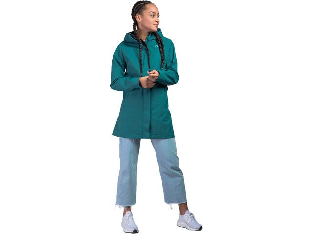 Tatonka Zenja Hooded Coat Women, petrol
